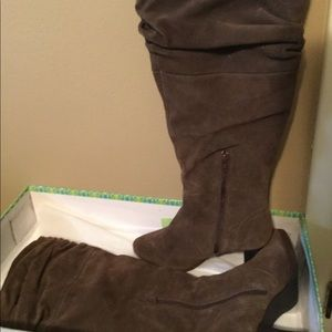 Tall Boots-Chocolate Brown